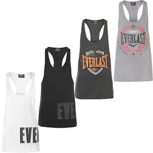 OVP NEU Everlast schwarzes Achselshirt Herren T-Shirt 2 XL