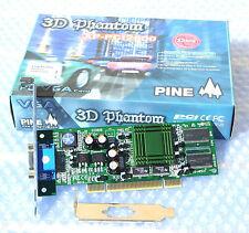 SCHEDA VIDEO SIS 305 DA 32 MB PCI - NUOVA BASSO PROFILO – NEW LOW PROFILE