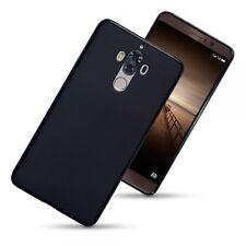 Huawei Mate 9 Rugged Case High Impact Flexible Air Gel Shell From UK Black Matte