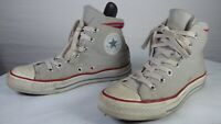 Converse Chuck Taylor All Star Classic Light Grey Hi Top Canvas Trainers UK 5 38