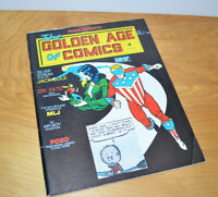 Vintage THE GOLDEN AGE OF COMICS Comic Book Magazine #4 1983 Frank Frazetta