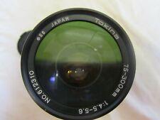 Tokina 75-300mm 1:4.5-5.6 Lens No.612310