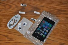 BLACK Sprint iPhone 4 FREE SHIP Apple clean ESN No iCloud 8GB 3 home buttons