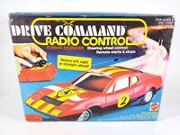 Mattel Ferrari 512 Racer Drive Command Radio Remote Control Car in Box