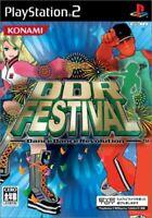 DDR Festival Dance Dance Revolution PS2 Konami Sony Playstation 2 From Japan