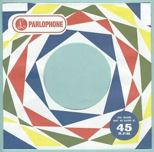 PARLOPHONE (harlequin diamonds) REPRODUCTION RECORD COMPANY SLEEVES (pack of 10)