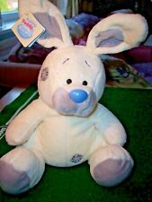 """*ME TO YOU BLUE NOSE FRIENDS* LARGE 10"""" BLOSSOM! RABBIT! NEW WITH TAGS!"""