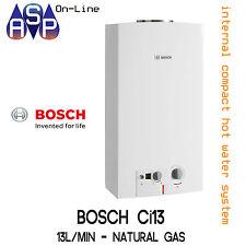 BOSCH INTERNAL COMPACT Ci13 - HOT WATER SYSTEM - 13L/min - NATURAL GAS