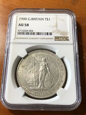 Great Britain - 1900 No Mint Mark Trade Dollar - NGC AU58 - Ultra Rare