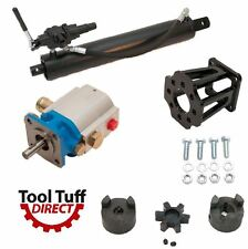 "Log Splitter Build Kit, 11 GPM Pump, 4.5"" Cylinder, A7 Valve, Mount Coupler"