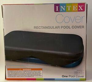 Intex Rectangular Pool Cover for Swim Centers 58412EP