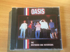 """OASIS-""""THE WESTWOOD ONE INTERVIEWS""""-NOEL GALLAGHER-BRAND NEW SEALED CD 1996"""