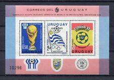 s5890) URUGUAY 1979 MNH** WC Football'82 - CM Calcio S/S
