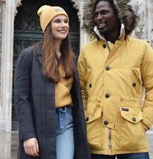 NWT ABERCROMBIE & FITCH Long Coat A&F Grey Plaid XS Waistcoat