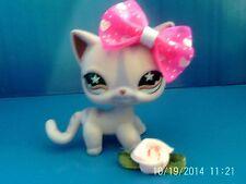 LPS Littlest Pet Shop Short Hair Cat #933 avec accessoires 2 Arcs