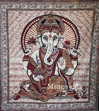 Indian Goddess Ganesh Tapestry Hindu Goddess Queen Wall Hanging Ethinic Decor