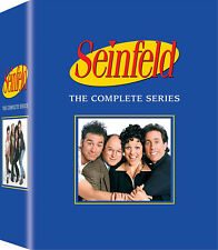 NEW Seinfeld - The Complete Series season 1-9  (DVD, 2017, 33-Disc Box Set)