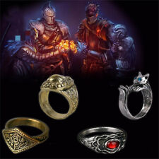 Ring of Favor Game Dark Souls Ⅲ Havel Silvercat Cosplay Ring Props Alloy