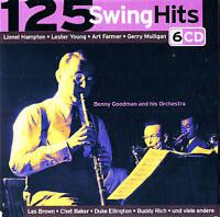 "125 SWING HITS""Jazz & Blues"" 78rpm time  6CD-Box NEU & OVP FlexMedia 2006"