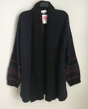 New John + Jenn XL Chunky Knit Open Front Cardigan Sweater