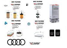 Kit Filtri Tagliando Audi Q5 8RB 2.0 TDI + 5 Litri Olio Originale 5W30