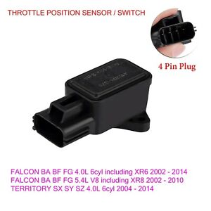 THROTTLE POSITION SWITCH FOR FORD TERRITORY SX SY SZ 6cyl INC TURBO CTPS208