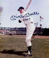 New York Yankees Mickey Mantle Signed #7 In Color