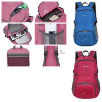 35L Foldable Travel Sports Hiking Backpack Waterproof Unisex School Shoulder Bag