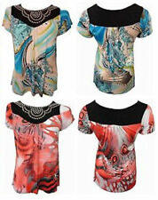 Party Polyester Other Tops Plus Size for Women