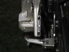Motorcycle TURN Signals Blinker Rear Peg Front Black 3 LED Flush Slim Mount RR a