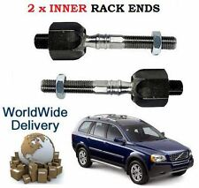 FOR VOLVO XC90 9/2002--> NEW 2x INNER TIE RACK ROD END SET *OE
