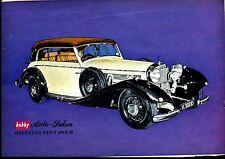 Mecedes benz  540 K/B---Baujahr 1936--Werbung von 1963-