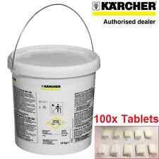 100 Tabletas de Limpieza para RM760 Genuino Karcher Puzzi 100 200 10/1 10/2 8/1 30/4