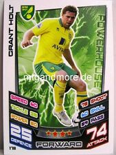 Match Attax 2012/13 Premier League - #178 Grant Holt - Norwich City