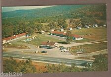VINTAGE POSTCARD UNUSED WEATHERHEADS MOTEL & CABINS MILLER'S FALLS MASS