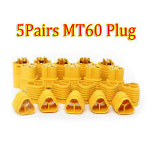 5Pairs High Current MT60 Plug Socket 3.5mm ESC Brushless Motor Connection