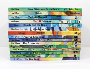 Walt Disney Classics Series LOT of 15 Oversize HC Mouse Works Twin Gallery Books
