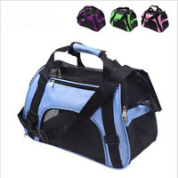 Portable Breathable Pet Puppy Dog Cat Travel Bag Carrier House Kennel Cage Tote