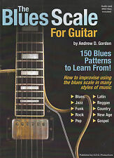 The Blues Scale for Guitar Book/audio
