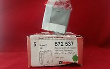LEGRAND ARTEOR 572537 TWO WAY SWITCH 10AMP MAGNESIUM