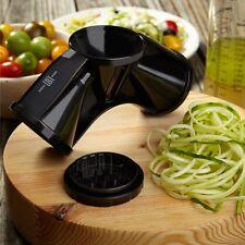 Robert Irvine 3 in 1 Spiral Slicer With 3 Built In Blades Kitchen Appliance