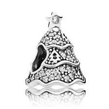 Authentic Pandora Charm Twinkling Christmas Tree 791765CZ
