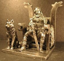Toy lead soldier,Viking on the throne,rare,detailed,collectable,gift idea