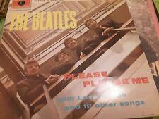 Beatles vinyl LP album record Please Please Me PCS3042
