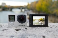 Gopro HERO 4 Silver  4K Action Touchscreen Camera Camcorder.