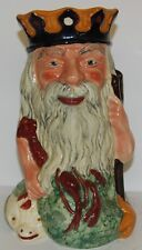 SHORTER & SON POTTERY CHARACTER JUG LARGE NEPTUNE *** PERFECT ***