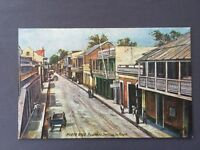 ±1910 Postcard PORTO PUERTO RICO Business Section in Ponce Tuck Oilette 7725 Old