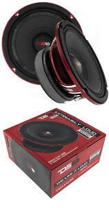"2x DS18 8"" Pro Audio Mid Range Loud Speaker 1600 Watts 8 Ohm PRO-EXL88"