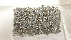 140 swarovski xilion rhinestones,24ss(5.2mm)crystal,foiled #1028