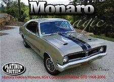 Monaro Magic: History of Holden Monaro 1968-2006 by Norm Darwin (Hardback, 2013)